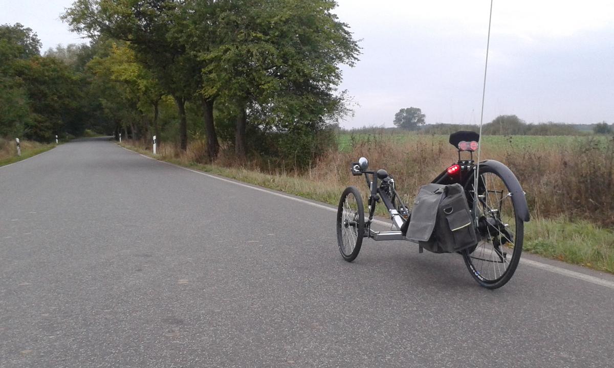 Mit dem KMX Trike in die Stadt