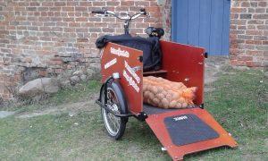 Kartoffeln holen mit Babboe