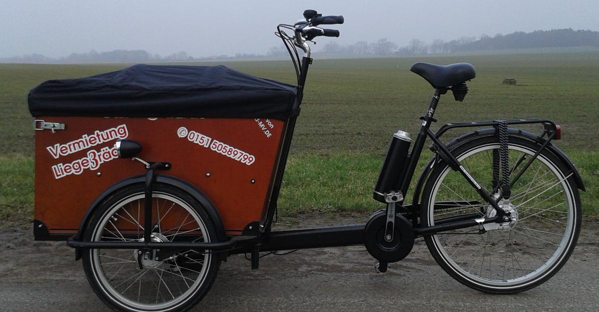 Lastenrad auf kleiner Tour testen