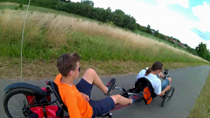 KMX Umbau Tandem Trike